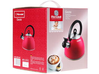 Чайник Rondell RDS-361 розовый