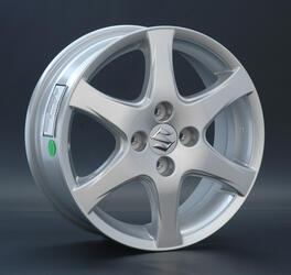 Автомобильный диск литой Replay SZ11 6x15 4/112 ET 57 DIA 71,6 Sil
