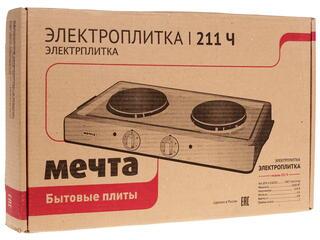 Плитка электрическая Мечта 211Ч черный