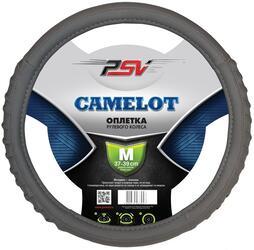 Оплетка на руль PSV CAMELOT серый