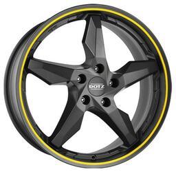 Автомобильный диск Литой Dotz Touge 8x18 5/120 ET 35 DIA 72,6 Graphite