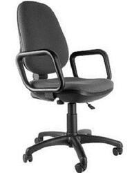 Кресло офисное ДЭФО Комфорт GTP серый