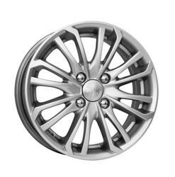Автомобильный диск литой K&K Рим 6,5x16 4/100 ET 45 DIA 67,1 Блэк платинум