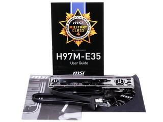 Материнская плата MSI H97M-E35