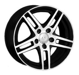 Автомобильный диск Литой LS 281 6x14 4/100 ET 40 DIA 73,1 BKF