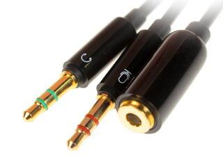 Переходник Prolink 3.5 mm jack - 3.5 mm jack x2