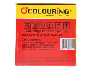 Картридж лазерный Colouring CG-KX-FAT411A/461/FAT92/FAT94/KX-FAC415