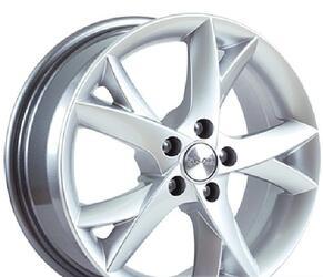 Автомобильный диск литой Скад Лотос 6,5x16 5/100 ET 45 DIA 60,1 Селена