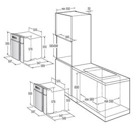 Электрический духовой шкаф Gorenje BO 87 KR