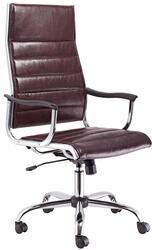 Кресло офисное Бюрократ CH-994 коричневый