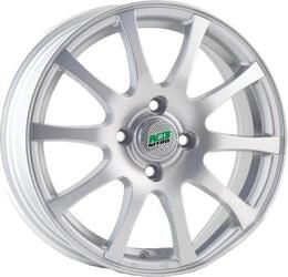 Автомобильный диск Литой Nitro Y3176 6x15 4/100 ET 49 DIA 60,1 Sil