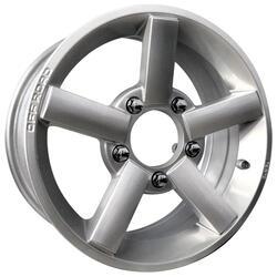 Автомобильный диск Литой K&K Титан-тех 6,5x15 5/139,7 ET 40 DIA 98 Сильвер