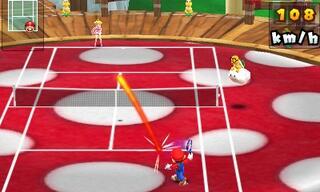 Игра для 3DS Mario Tennis Open