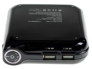 Портативный аккумулятор Funktech FTB12000DUO черный