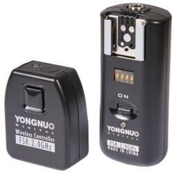 Беспроводной радиосинхронизатор + трос ДУ Yongnu RF-602 универсальный Canon