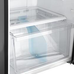 Холодильник с морозильником Sharp SJSC471VBK черный