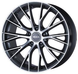 Автомобильный диск Литой MAK Munchen 8,5x20 5/120 ET 38 DIA 72,6 Gun Metallic - Mirror Face