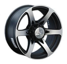 Автомобильный диск Литой LS 165 7,5x17 6/139,7 ET 0 DIA 107,1 BKF