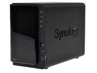 Сетевое хранилище Synology Disk Station DS214