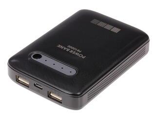 Портативный аккумулятор InterStep PB12000BR черный