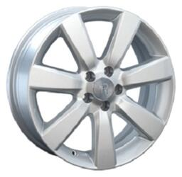 Автомобильный диск литой Replay GN25 7x17 4/114,3 ET 49 DIA 56,6 Sil