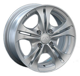 Автомобильный диск Литой LS NG680 6x14 4/98 ET 38 DIA 58,6 Sil