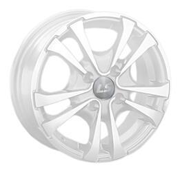 Автомобильный диск Литой LS 309 6x15 4/100 ET 45 DIA 73,1 White