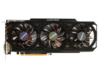 Видеокарта GIGABYTE AMD Radeon R9 280X [GV-R928XOC-3GD]