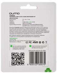 Карта памяти QUMO microSDHC 16 Гб