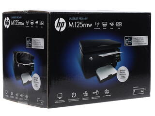 МФУ лазерное HP LaserJet Pro M125rnw