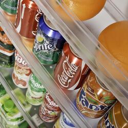 Холодильник с морозильником Indesit TIA 16 GA белый