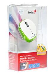 Мышь беспроводная Genius Micro Traveler 9000R белый