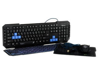 Клавиатура+мышь Qumo Hurricane