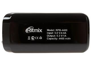 Портативный аккумулятор RITMIX RPB-4400 черный