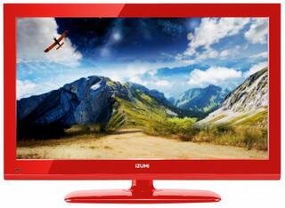 "19"" (48 см)  LED-телевизор IZUMI TLE19H400R красный"