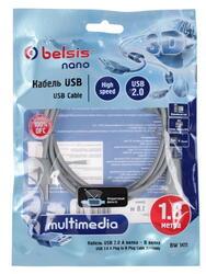 Кабель соединительный Belsis USB - USB B