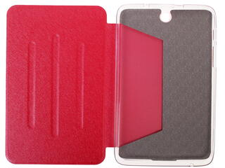 Чехол-книжка для планшета Lenovo IdeaTab A3500 красный