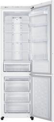 Холодильник с морозильником Samsung RL50RFBSW белый