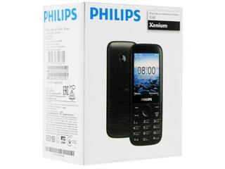 Сотовый телефон Philips Xenium E160 черный