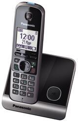 Телефон беспроводной (DECT) Panasonic KX-TG6711RUB