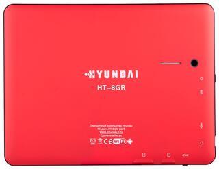 "8"" Планшет Hyundai HT-8GR 16Gb 3G Red"