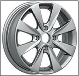 Автомобильный диск литой Replay RN60 6x15 4/130 ET 45 DIA 60,1 Sil