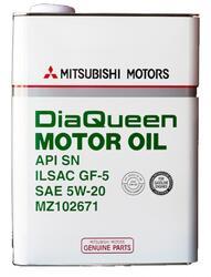 Моторное масло MMC (Orig.Japan) DQ 5W20 MZ102671