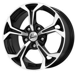 Автомобильный диск литой iFree Эрнесто 6,5x15 5/112 ET 35 DIA 66,6 Блэк Джек