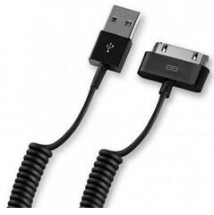 Кабель Deppa 72119 USB 2.0 - 30-pin черный