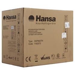 Вытяжка каминная Hansa OKP662TH серебристый
