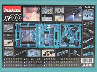 Набор сверл и насадок-бит Makita D-37194