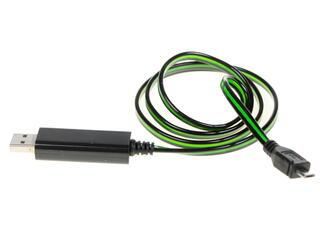 Кабель Solomon micro USB - USB черный, зеленый
