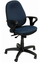 Кресло офисное Бюрократ T-612AXSN синий