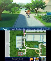 Игра для 3DS Inazuma Eleven GO Chrono Stones: Wildfire